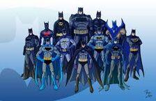 Batman varias versões.