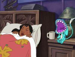 Belle waking Nani up.jpg