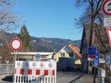 Grenze zwischen Deutschland und Österreich