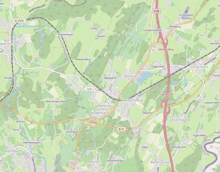 Die von OpenStreetMap zur Verfügung gestellten Daten sind unter der Open Data Commons Open Database Lizenz (ODbL) lizenziert.