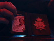 Ted Hastings Warrant Card