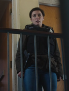 DI Kate Fleming with holstered pistol S05E03