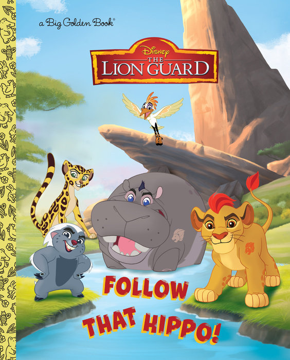 Follow That Hippo! (Big Golden Book)