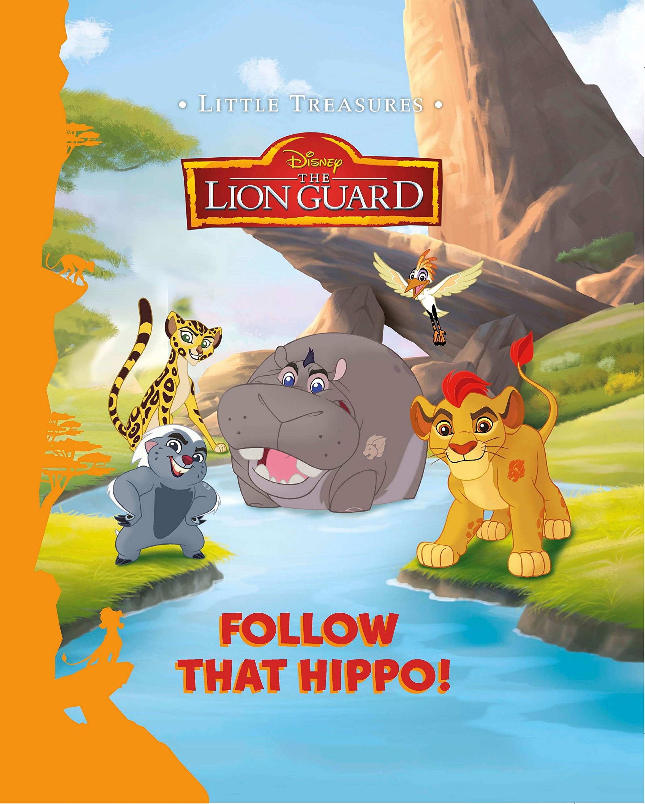 Follow That Hippo! (Little Treasures)