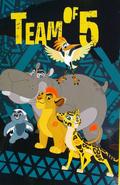 Teamof5blanky