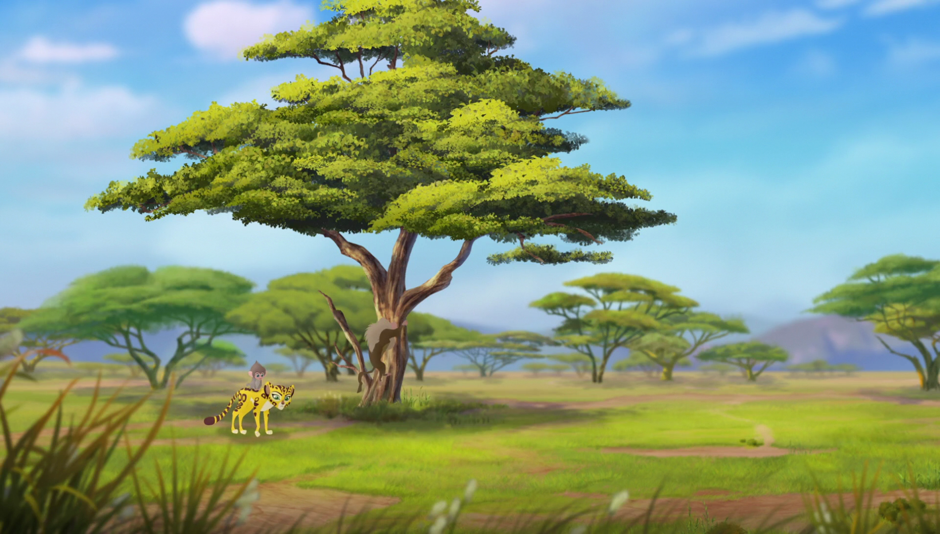 Big Baboon Tree The Lion Guard Wiki Fandom