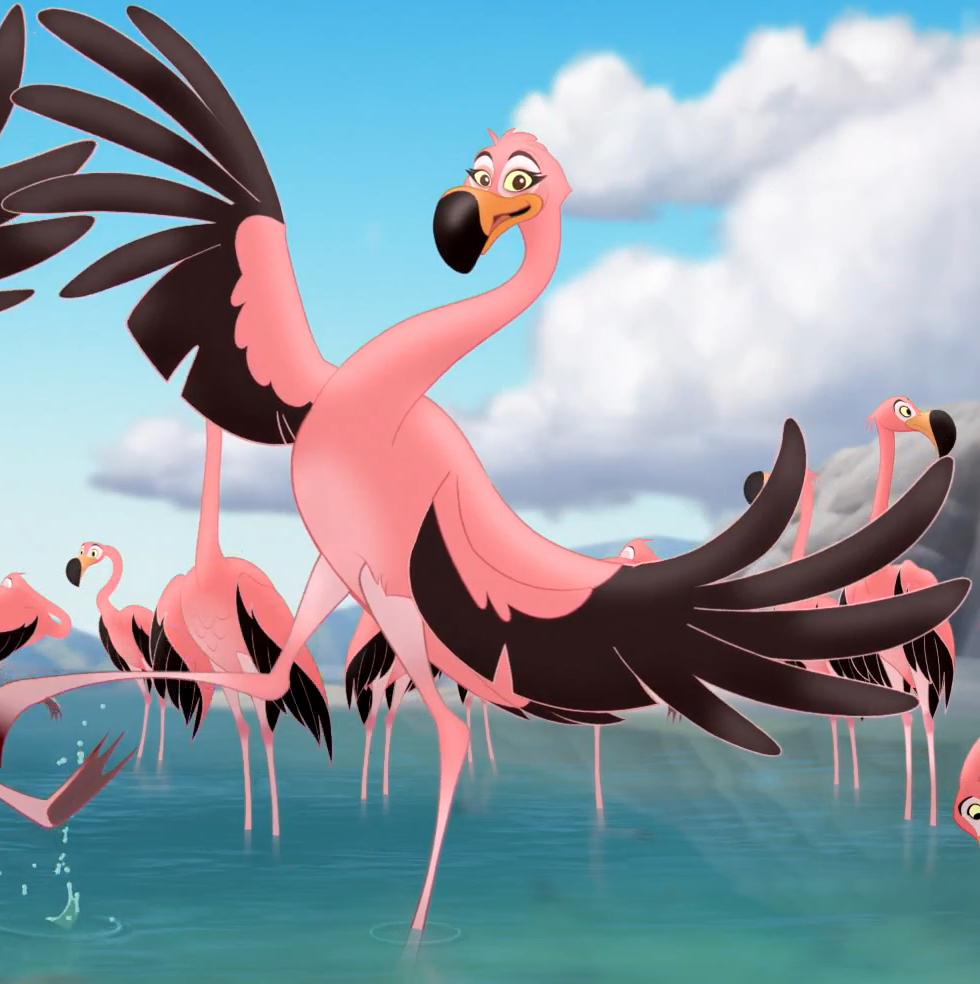 Flamingo Girl 2