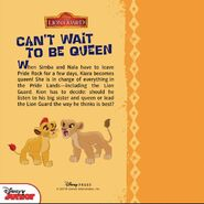 The lion guard can t wait to be queen back cover by findingserenity1998-da7f3c7