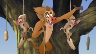 The Lion Guard (Yellow Baboon)