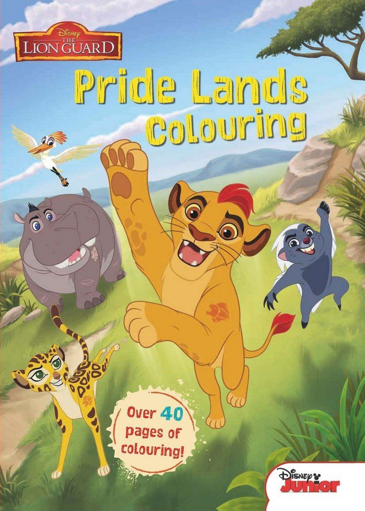 Pride Lands Colouring