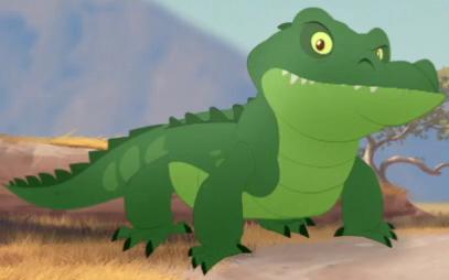 Male Crocodile
