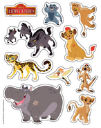 Stickersheet dj