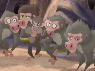 The Lion Guard (Chacma Baboon)