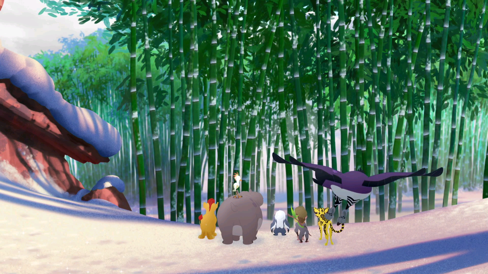 Bamboo Forest/Gallery/Ghost of the Mountain