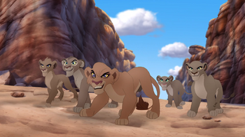 Vitani's Lion Guard