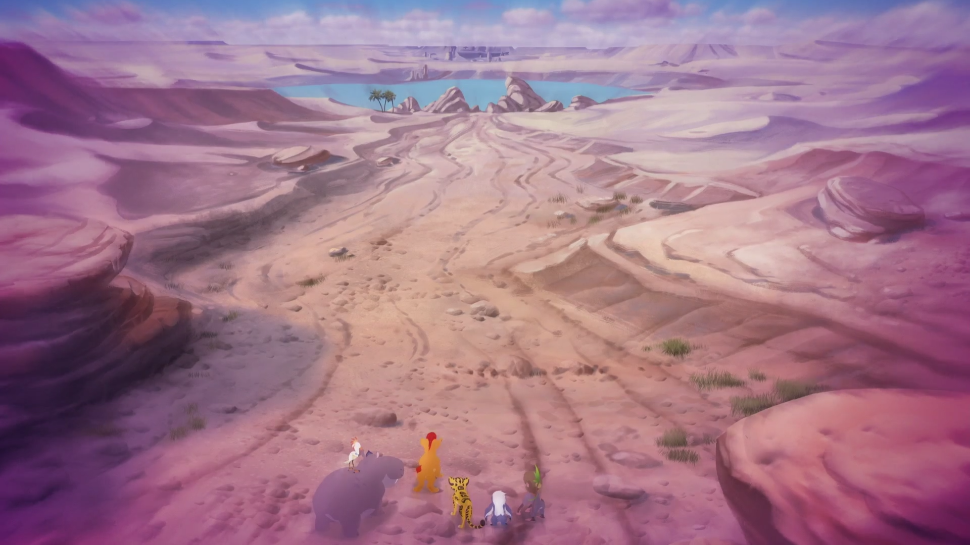 Azaad's Canyon/Gallery/The Race to Tuliza
