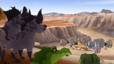 Lion Guard The Pride Landers Save Makuu Pride Landers Unite! HD Clip