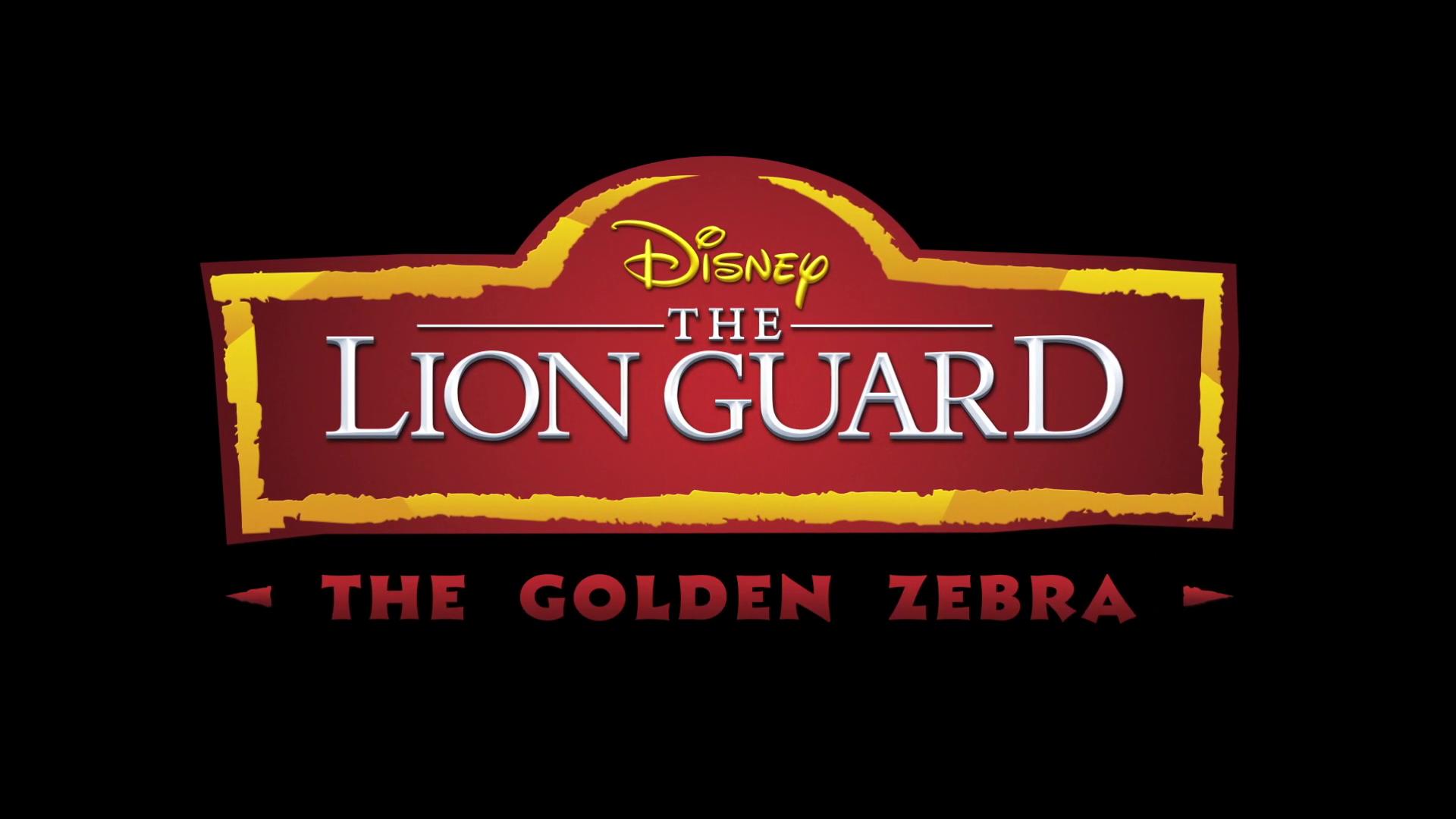 The Golden Zebra