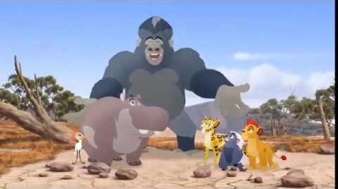 Shujaa Ponda l Beshte and the Beast Song l The Lion Guard