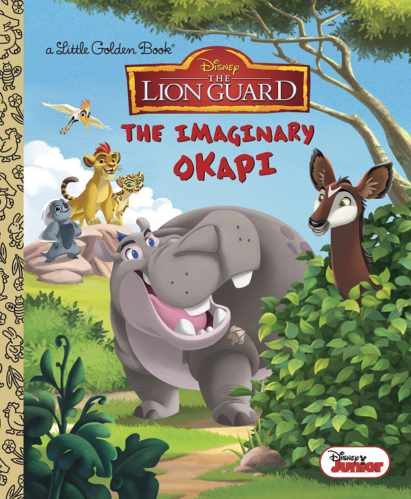 The Imaginary Okapi (Golden Book)