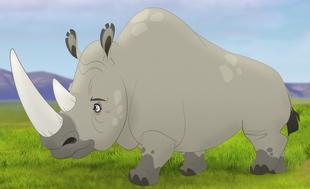 The Lion Guard (White Rhinoceros)
