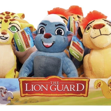 The Lion King Scar Soft Plush Stuffed Doll Toy Figure Animal Cuddly Gift New