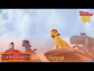 The Lion Guard - We Will Defend (Hindi) - -IndianAnimèsTV