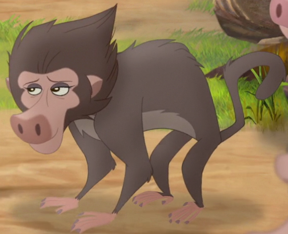 Baby Baboon's Mother