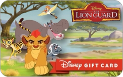Lion Guard Gift Card