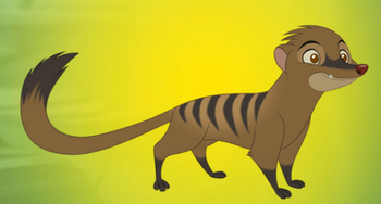The Lion Guard (Banded Mongoose)
