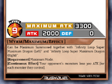 Infinity Loop Super Maximum Dragon