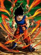 Saiyan's Anger - Super Saiyan Transformation EN Artwork V1