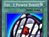 Lev. 2 Power Boost (Custom)