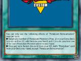 Pendulum Reincarnation (KuugaUltimate200)