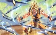 The Saiyans Raging Spirit - Confrontation EN JOTD Artwork V0
