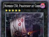 Number C50: Pirateship of Corn