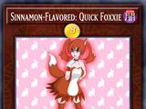 Sinnamon-Flavored: Quick Foxxie