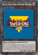 Black Hole Dark Synchro Dragon Prior Ver