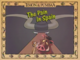The Pain in Spain