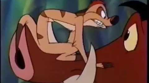 Timon & Pumbaa Promo- Today's Special (1995)