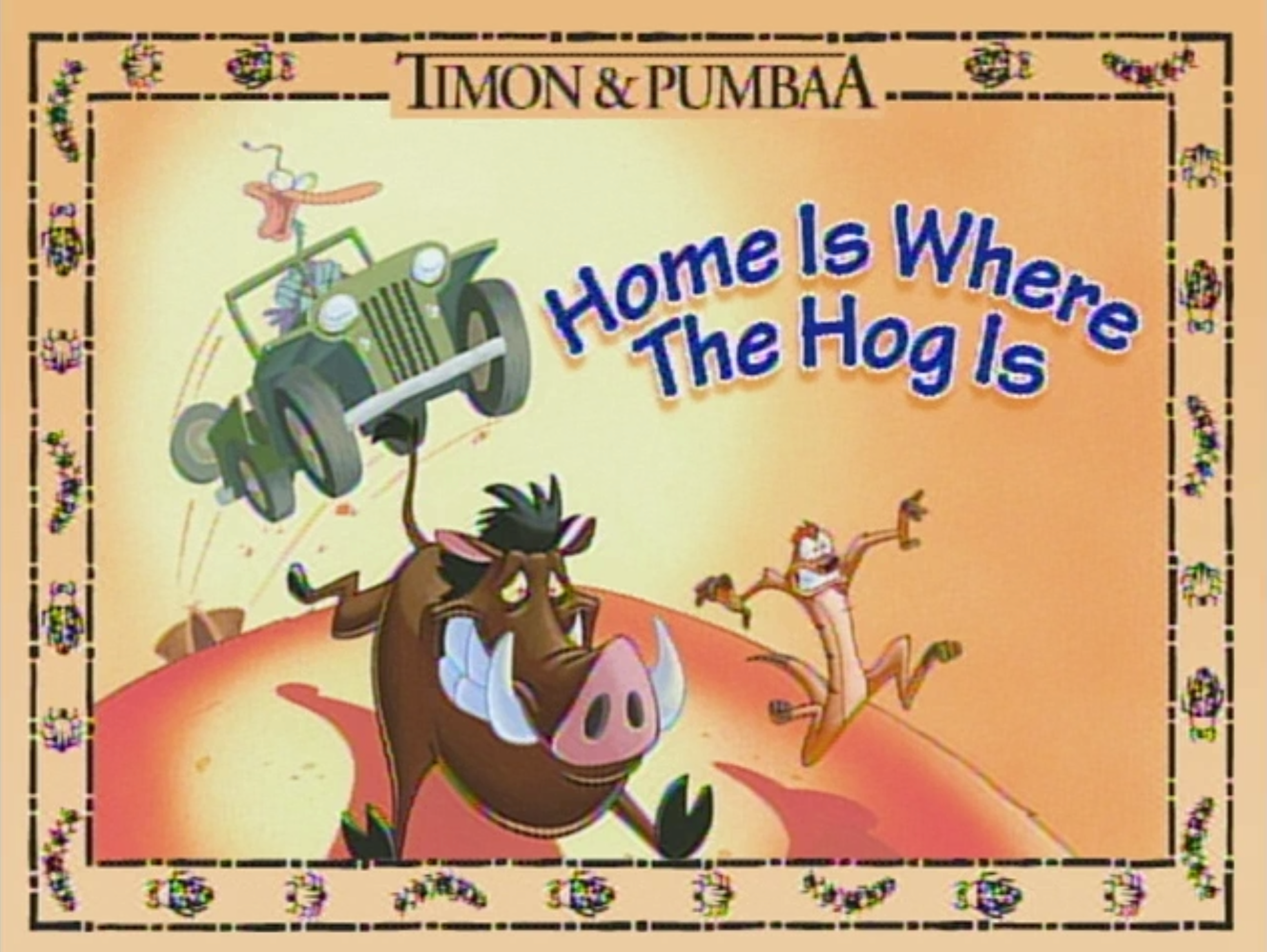 Home is Where the Hog Is