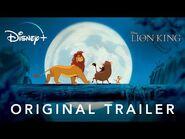 The Lion King - Original Trailer - Disney+