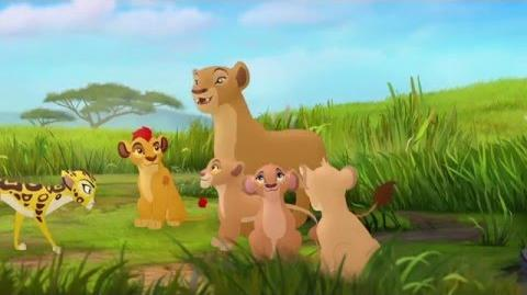 The Lion Guard Fuli & the Royal Family Fuli's New Family HD Clip