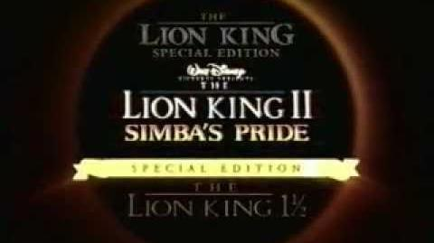 Disney's The Lion King 2 Simbas Pride Special Edition Trailer