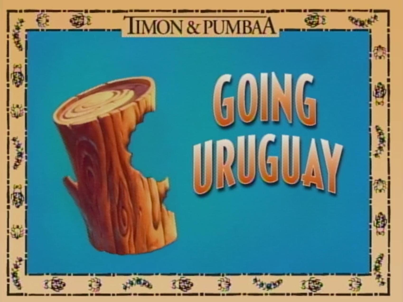 Going Uruguay