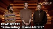 """Reinventing Hakuna Matata"" Featurette The Lion King"