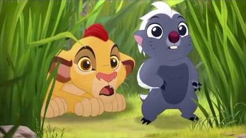 The Lion Guard The Morning Report - Baby Fuli And Baby Kion & Bunga Meet Pua's Float Scene HD