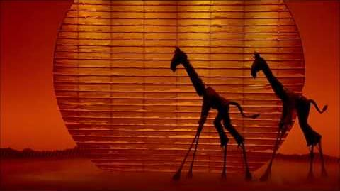 """THE LION KING on Broadway """"Feel the Love Tonight"""" TV Commercial"""