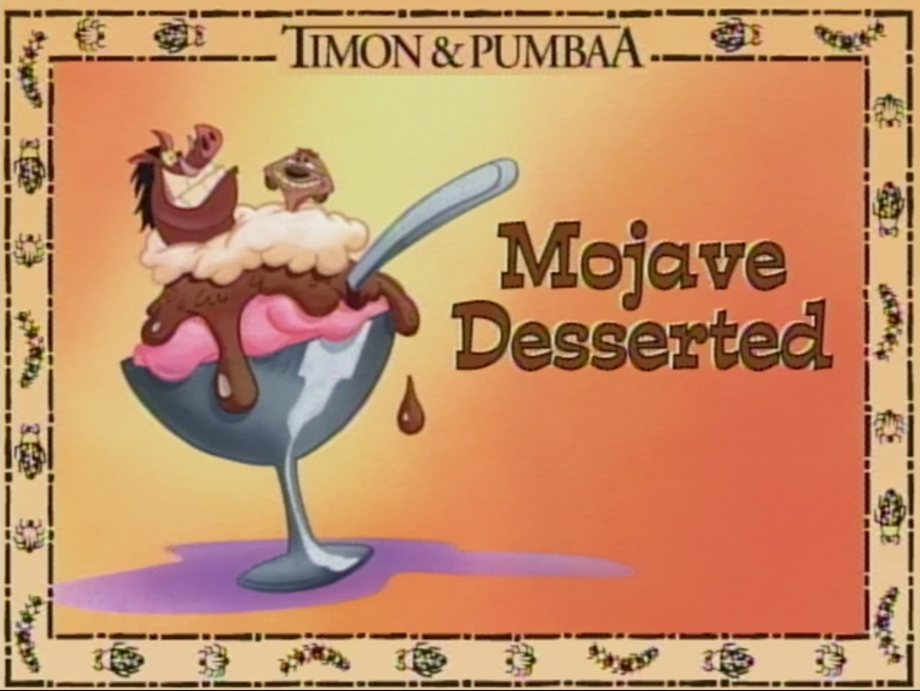 Mojave Desserted
