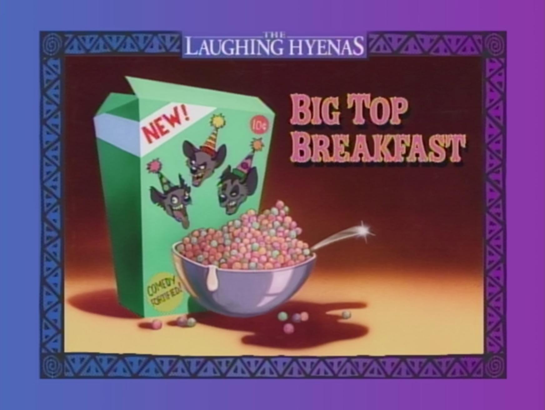 Big Top Breakfast